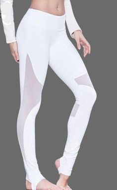 8984884d32b Polyamide Mesh Patchwork Leggings