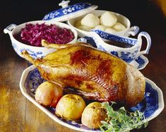 Weihnachtsgans, or Christmas goose, is a very special German meal. It's an easy meal to prepare and makes a great presentation on the holiday table.