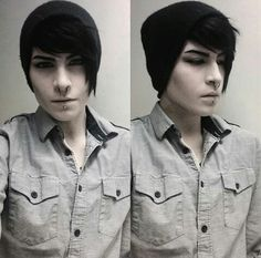 Jagvaurs - Instagram Goth Guys, Emo Guys, Pretty People, Beautiful People, Androgynous Models, Cute Emo Boys, Instagram Photo Video, Emo Outfits, Dream Hair