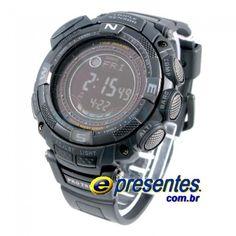 Casio Protrek PRG-130y Relogio Triplo Sensor 9ddaef3fc6