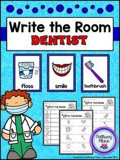 Write the Room - Community Helpers: Dentist ($)