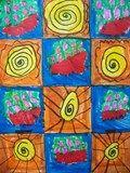 Artsonia Art Exhibit :: Complex Patterns grade 2