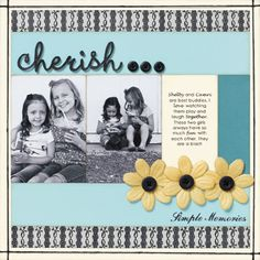 Lisa's Creative Corner: Close to my Heart My Acrylix Stamps: Did You Know? Love this layout