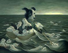 The Weary Shepherd by Heather Watts