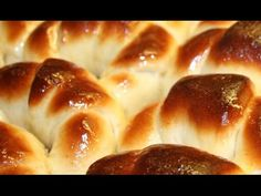 Hot Dog Buns, Fondant, Bread, Make It Yourself, Croissants, Cooking, Recipes, Food, Youtube
