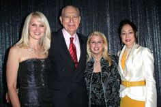 Co-chair Sara Herbert-Galloway, Ambassador John L. Loeb, Jr., Rita Cosby and Lucia Hwong-Gordon
