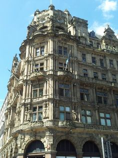 Jenners, famous department store on Princes Street in Edinburgh. Also referred to as Harrods of the North.