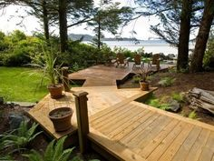 Beachfront deck overlooking Chesterman Beach...VRBO