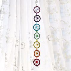 Chakra dream catcher chain  Price: 18.00 & FREE Shipping   #clothing