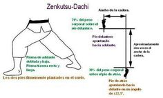 Zenkutzu-Dachi - Descripcion en Español