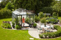Maxi 4, ett växhus från Willab Garden