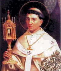 St. Norbert was born at Xanten near Cologne about the year 1080. As a young cleric he resided at the court of the Archbishop of Cologne and then at that of the emperor where he allowed himself to be influenced by the spirit of the world. But he was won back by grace; caught by a storm during a journey on horseback he made up his mind to take his clerical obligations seriously. After ordination to the priesthood he devoted himself to itinerant preaching. #Catholic #Pray