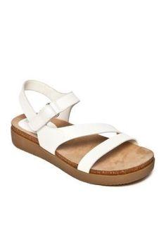 Kim Rogers White Harney Sandal