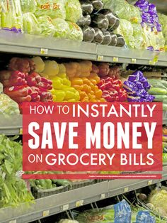 It takes time & actually costs more up front to save money on grocery bills by bulk buying but with these easy tips you can quickly save money on groceries