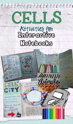 9 separate activities students can use to learn while exploring their creative outlet. These are designed to be used for an interactive notebook (INB) during your cells unit!