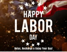Photo about Happy Labor day banner, american patriotic background. Image of label, grunge, federal - 95510371
