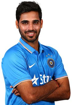 Bhuvneshwar Kumar Mavi is one of the most popular domestic Indian cricketers played for Pune Warriors India in the Indian Premium League. India Cricket Team, World Cricket, Cricket Sport, Indians Game, Cricket Wallpapers, Martial Arts, Athlete, Crushes, Polo Ralph Lauren