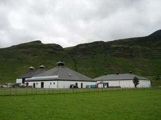 Arran distillery - Isle of Arran, visited here for their 15th anniversary party. Stunning location.