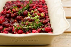 Roasted Cranberry Sauce | Life Currents