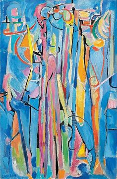 Andre Lanskoy - Le ciel et les sons de trompette, 1968