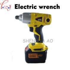 Electric Impact Wrench lithium electric charging impact wrench 88V9000mA quickly change the brush electric wrench tool 1pc #Affiliate