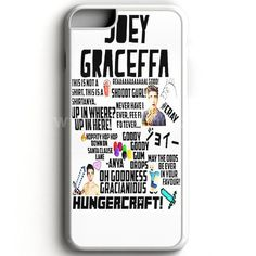 Collage Joey Graceffa case provides a protective yet stylish shield between your iPhone 7 and accidental bumps, drops, and scratches. Features slim and lightweight profile, precise cutouts, and provid