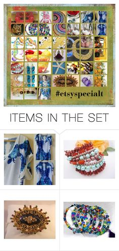 """""""#EtsySpecialT Mosiac"""" by rescuedofferings ❤ liked on Polyvore featuring art and EtsySpecialT"""
