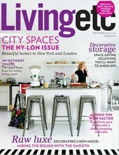 Living Etc Interior Design Magazine, Home Decorating Magazine, Shelter  Magazine, Architecture Magazine,