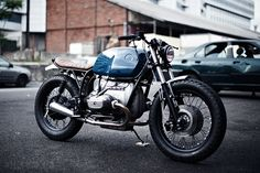 BMW R75/7 by Clutch Custom, front right