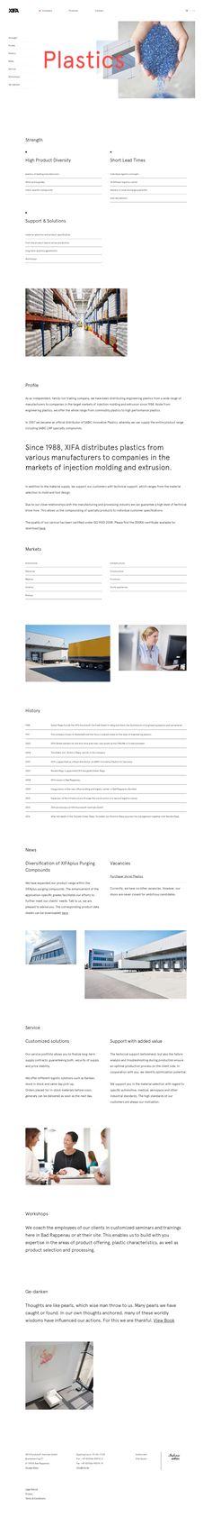 XIFA — Distributor of plastics of known manufacturers