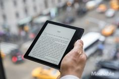 The Amazon Kindle Oasis may be the thinnest, lightest, most unusually designed ereader you've ever seen.