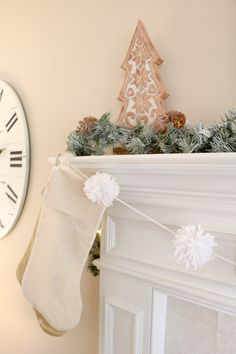 Decorate your home for the holidays using our Peace on Earth free printable that features a little girl pulling a Christmas tree. Winter Home Decor, Winter House, Easy Home Decor, Christmas Holidays, Christmas Crafts, Christmas Decorations, Holiday Decor, Traditional Christmas Dinner, Rustic Mantel