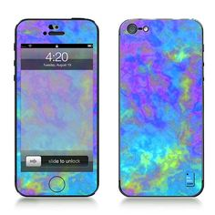 Psychedelic IPhone 5 Decal