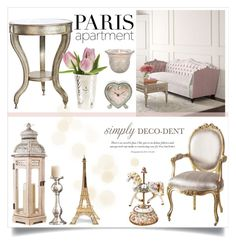 """""""Decodent Parisian"""" by katrinaalice ❤ liked on Polyvore featuring interior, interiors, interior design, home, home decor, interior decorating, Universal Lighting and Decor, Cultural Intrigue, Haute House and Sass & Belle"""