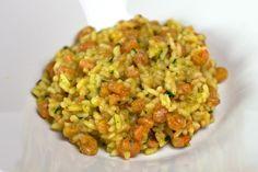 Risotto crevettes et curry au Thermomix                                                                                                                                                                                 Plus
