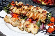 Delicious buttermilk ranch chicken kabobs are the way to open your grilling season. An easy recipe the entire family will love.