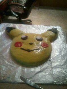 Pokemon, gotta catch em all! Pokemon Birthday Cake, Pokemon Party, Pikachu Cake, Basketball Birthday, Pretty Cakes, Sugar And Spice, Cupcake Cakes, Cupcakes, Amazing Cakes