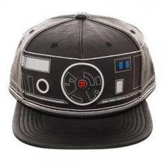pick up 2b2d5 7687a First Order BB Unit Big Face Embroidered Faux Leather Snapback