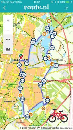 Op de fiets stempels verzamelen met de 5 rondritten van Stampions: bijvoorbeeld de WestfrontRoute vanuit Haarlem