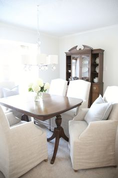 Read More: http://www.stylemepretty.com/living/2015/03/04/dining-room-re-do-for-less-than-50/