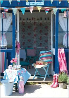 One day I will have a beach hut as my place to go :)