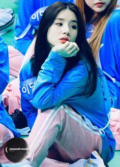 Kpop Girl Groups, Korean Girl Groups, Kpop Girls, Kim Jung, Famous Girls, Olivia Hye, Kang Haneul, Hello My Love, Your Girl