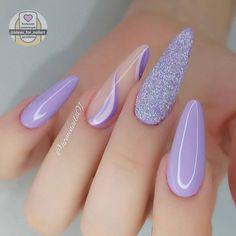 Classy Acrylic Nails, Bling Acrylic Nails, Glitter Nails, Cool Nail Designs, Stylish Nails, Nail Inspo, How To Do Nails, Make Up, Nail Art