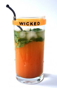 Pumpkin Mojito -- I'd do mine with vodka..and minus the pumpkin syrup. Hmmm. Maybe. *Shrug*