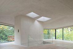 Pavillon mit Pool in Zürich / Viel Glas und eine Wand - Architektur und Architekten - News / Meldungen / Nachrichten - BauNetz.de