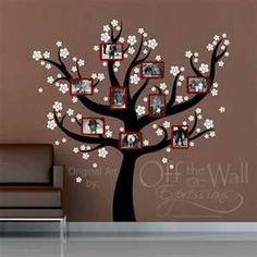 Family Tree Wall Art. LOVE LOVE LOVE!!!