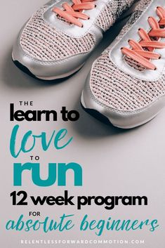 The Learn to Love to Run Program for beginners will help you safely and gradually get comfortable with a regular running routine over 12 weeks. Beginner 5k Training Plan, Running Plan For Beginners, Running Tips, Trail Running, Weight Training, Weight Lifting, Weight Loss, Running Routine, Running On Treadmill