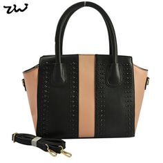 78dd4ef40e 20.80€ - Women Handbag Colourblock PU Leather Winged Bag Studded Shoulder  Bags VK1523 - Wenzhou