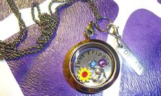 Just Trippen Journey Locket by RealCoolTreasures on Etsy