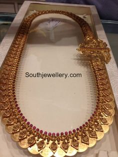 Kasulaperu latest jewelry designs - Page 2 of 46 - Indian Jewellery Designs Indian Wedding Jewelry, Indian Jewelry, Bridal Jewelry, Gold Jewelry, Gold Necklaces, Trendy Jewelry, Indian Bridal, Indian Jewellery Design, Jewelry Design